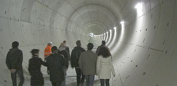 Einblicke in den Leipziger City-Tunnel