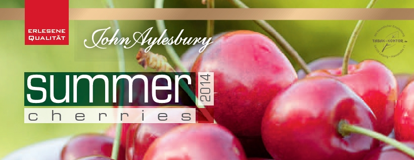 Link zur John Aylesbury Sommeredition - summer cherries 2014 im TABAK-KONTOR Onlineshop