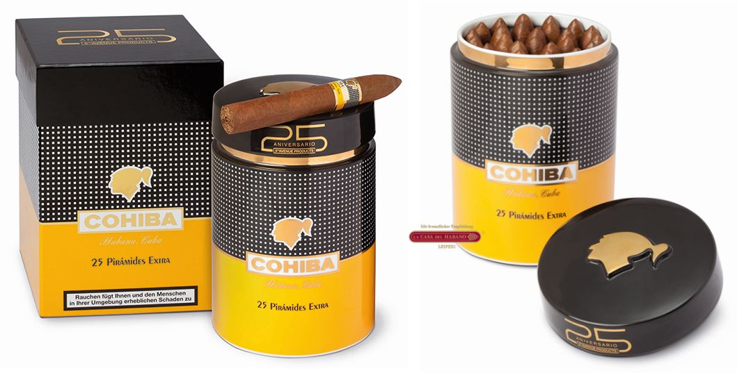 Cohiba Pirámides Extra JAR - 25 Aniversario 5th Avenue Products