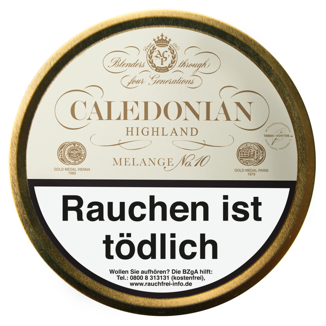 Caledonian Highland (Cream) Melange No. 10