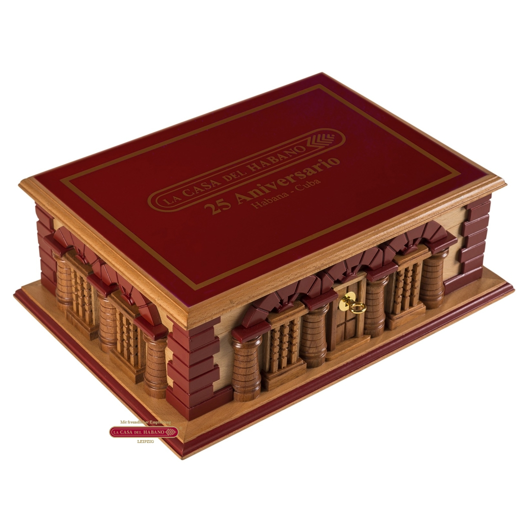 Humidor La Gloria Cubana La Casa del Habano - 25 ANIVERSARIO 30er (nur Vorbestellung ohne Bezahlung - not available - pre-order without payment only)