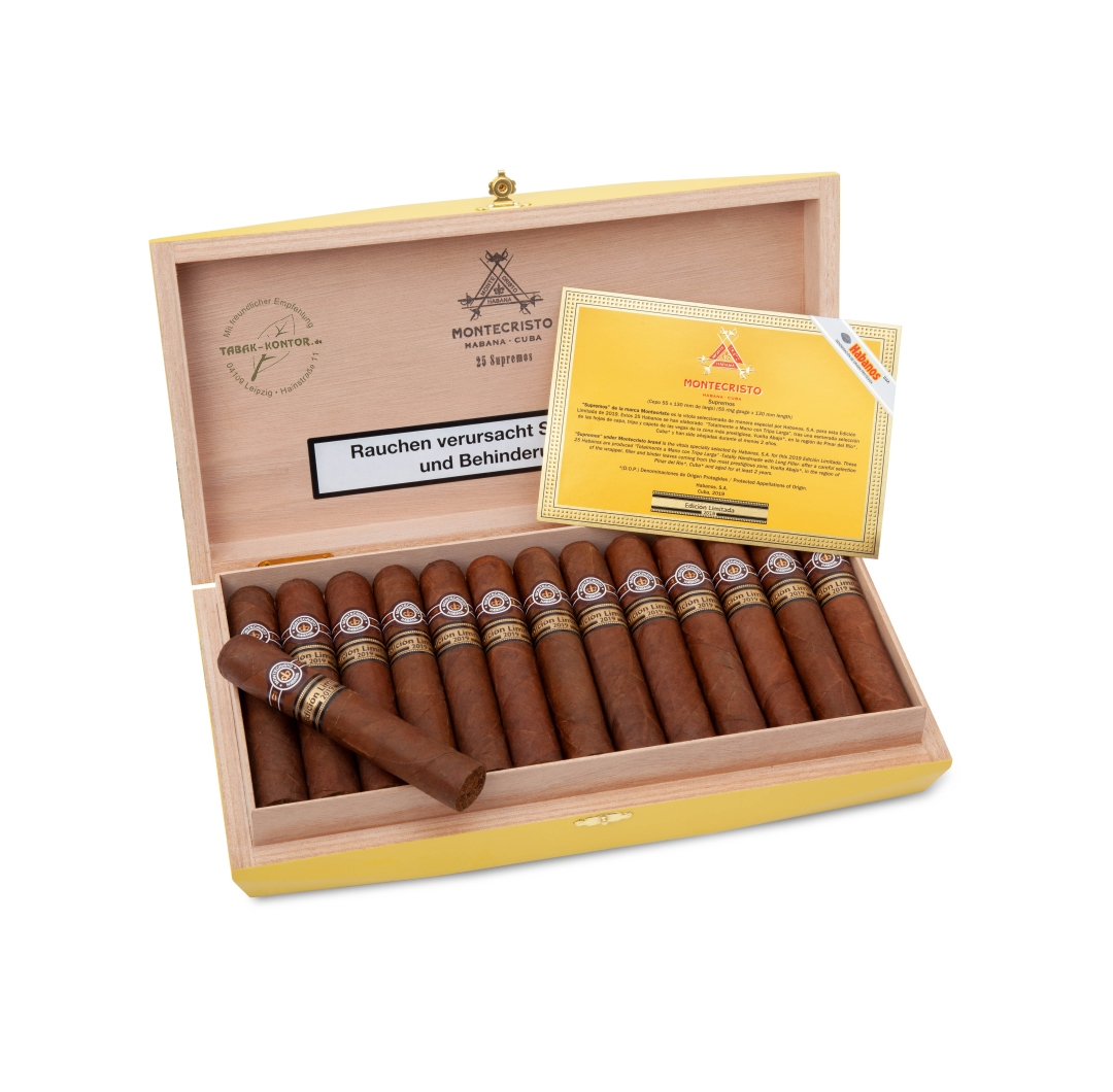 Montecristo Supremos Edición Limitada 2019 (nur Vorbestellung ohne Bezahlung - not available - pre-order without payment only)
