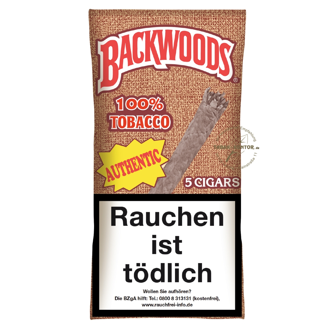 Backwoods Authentic - Aromatic (8 x 5er)