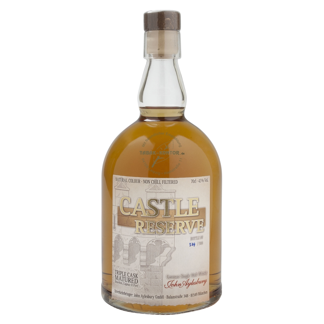John Aylesbury CASTLE RESERVE Triple Cask matured