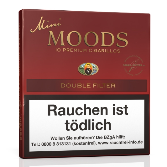 Dannemann Mini Moods Double Filter (Gebinde 10 x 10er)