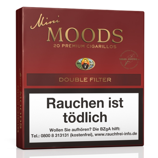 Dannemann Mini Moods Double Filter (Gebinde 10 x 20er)