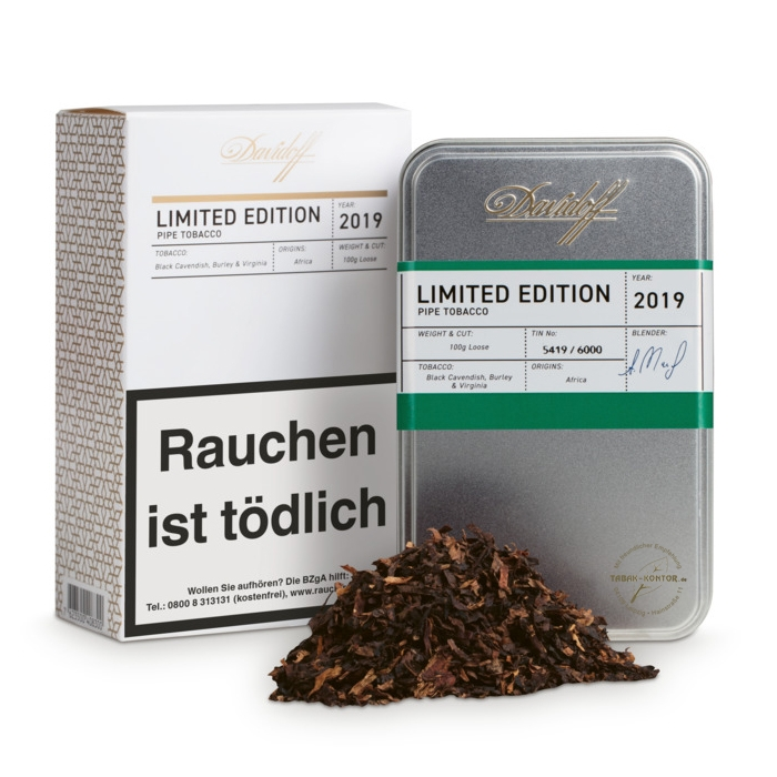 Davidoff Pipe Tobacco Limited Edition 2019