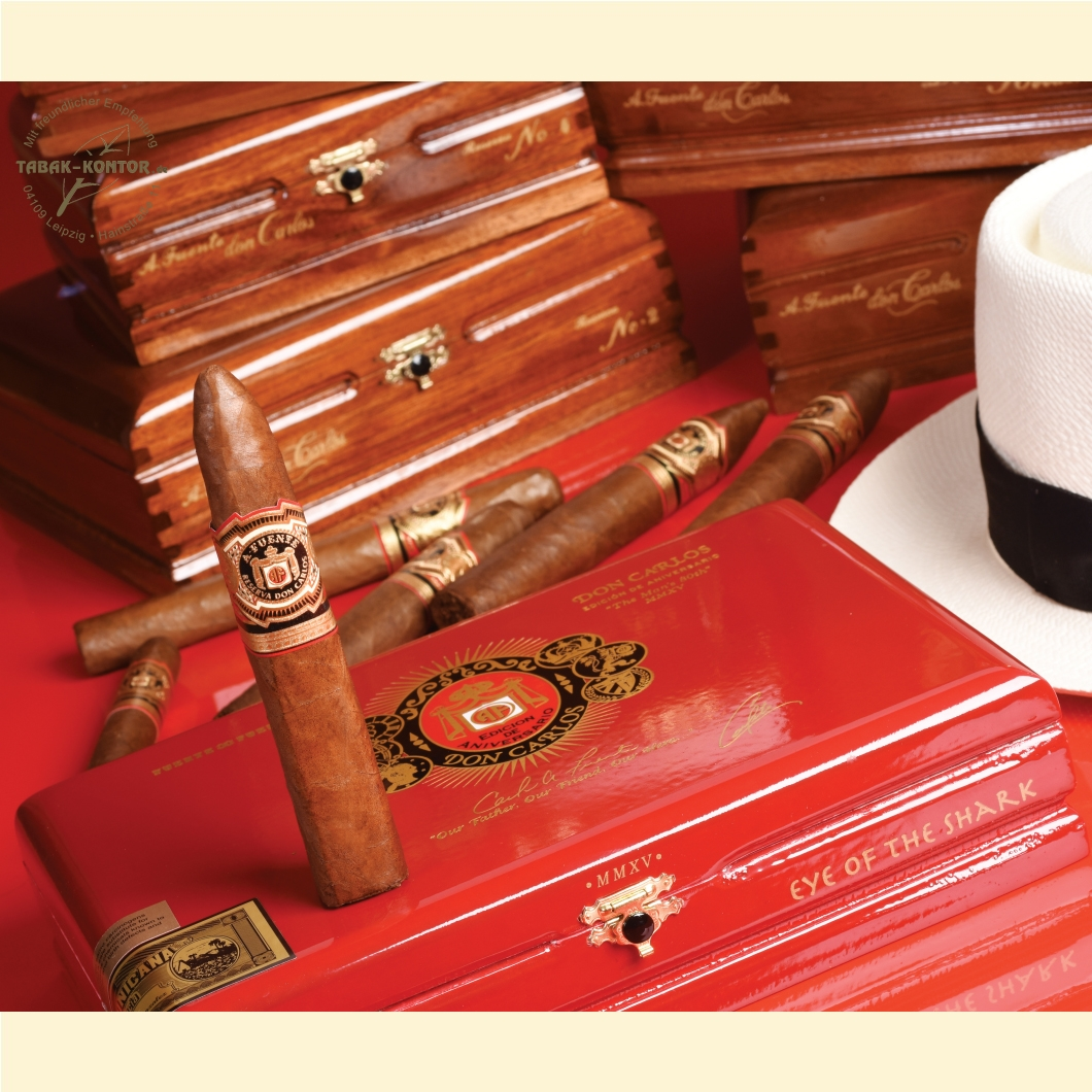 Arturo Fuente Don Carlos - The Man´s 80th MMXV - Eye Of The Shark