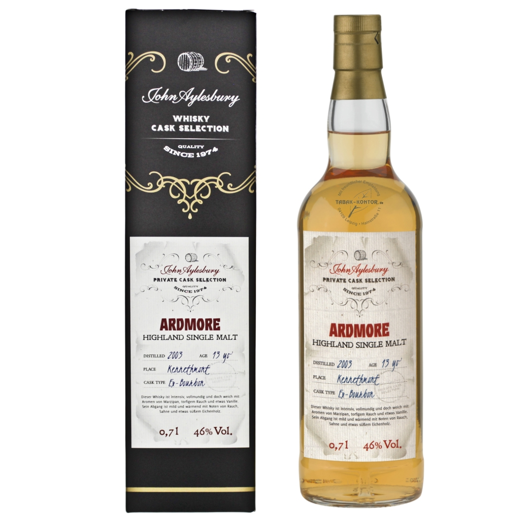 John Aylesbury Private Cask Selection Ardmore 2003 13 yo