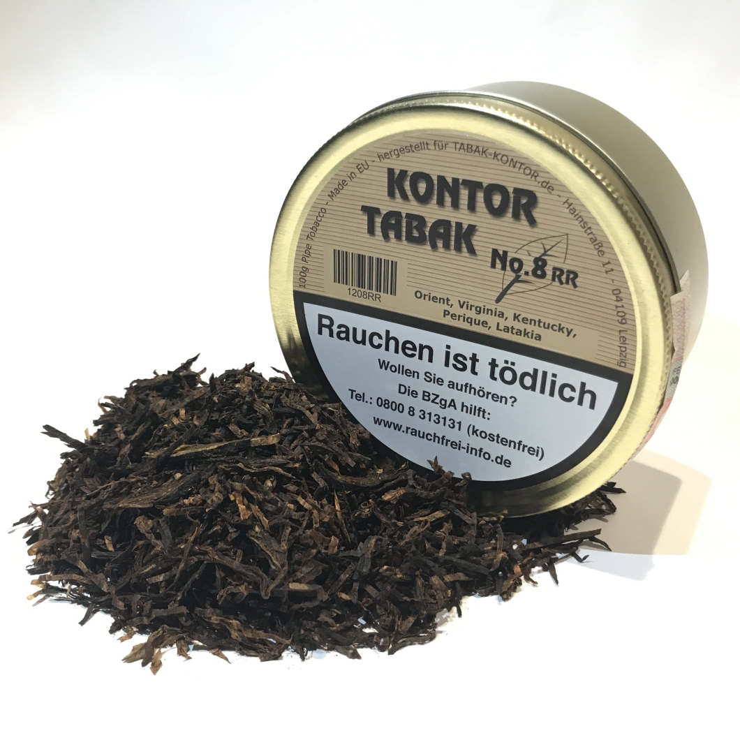 Kontor-Tabak No. 8 Ready Rubbed