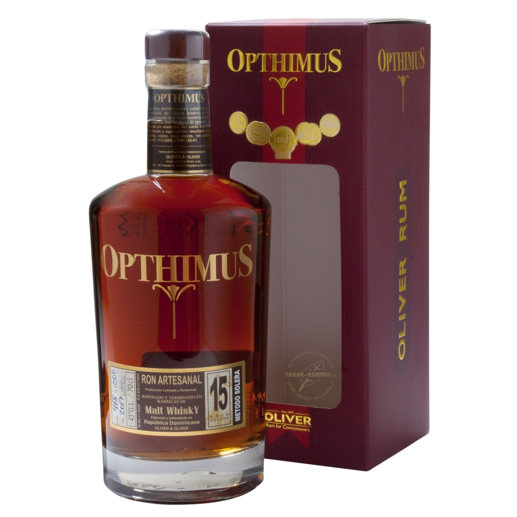 Opthimus 15 yo Malt Whisky Finish