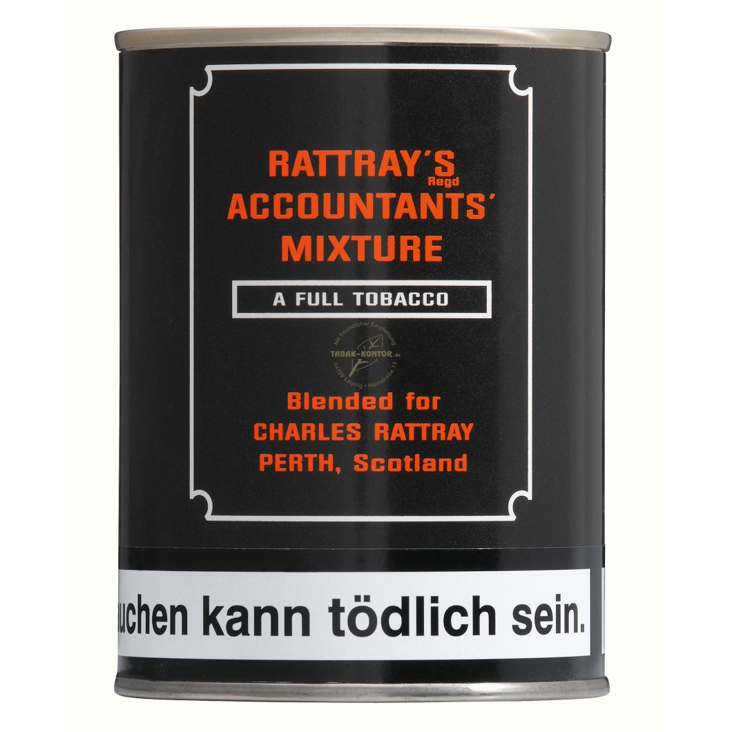 Rattray's BRITISH COLLECTION Accountants Mixture