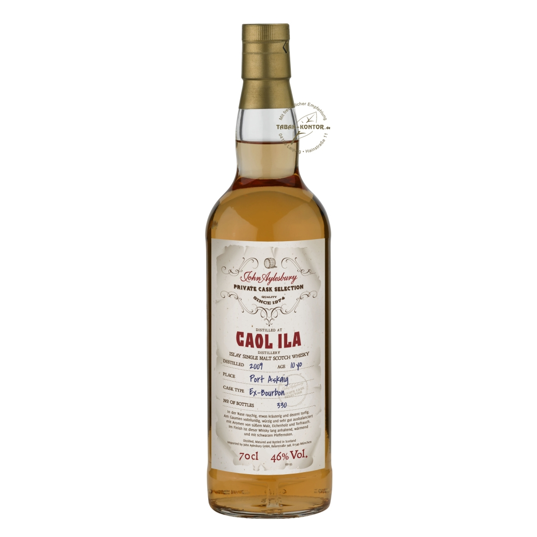 John Aylesbury Private Cask Selection Caol Ila 2009 10 yo